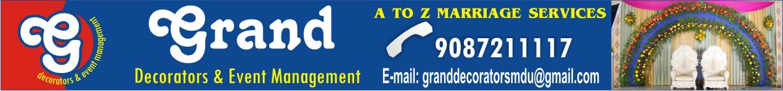 GRAND DECORATORS & EVENT MANAGEMENT,