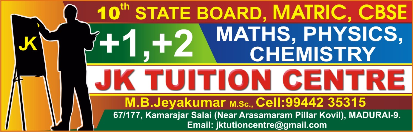 JK TUITION CENTRE,