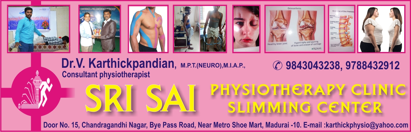 SRI SAI PHYSIOTHERAPY CLINIC SLIMMING CENTER,