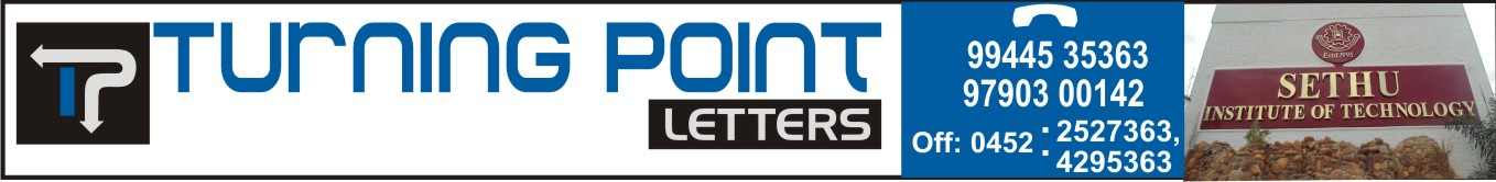 TURNING POINT LETTERS,