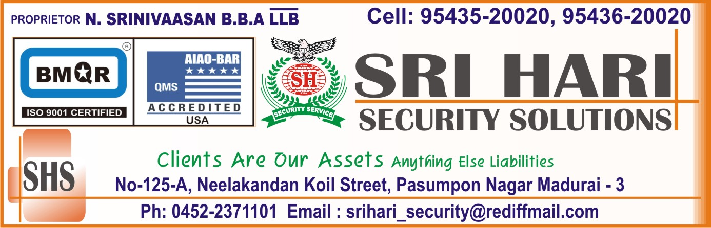 SRI HARI SECURITY SOLUTIONS,
