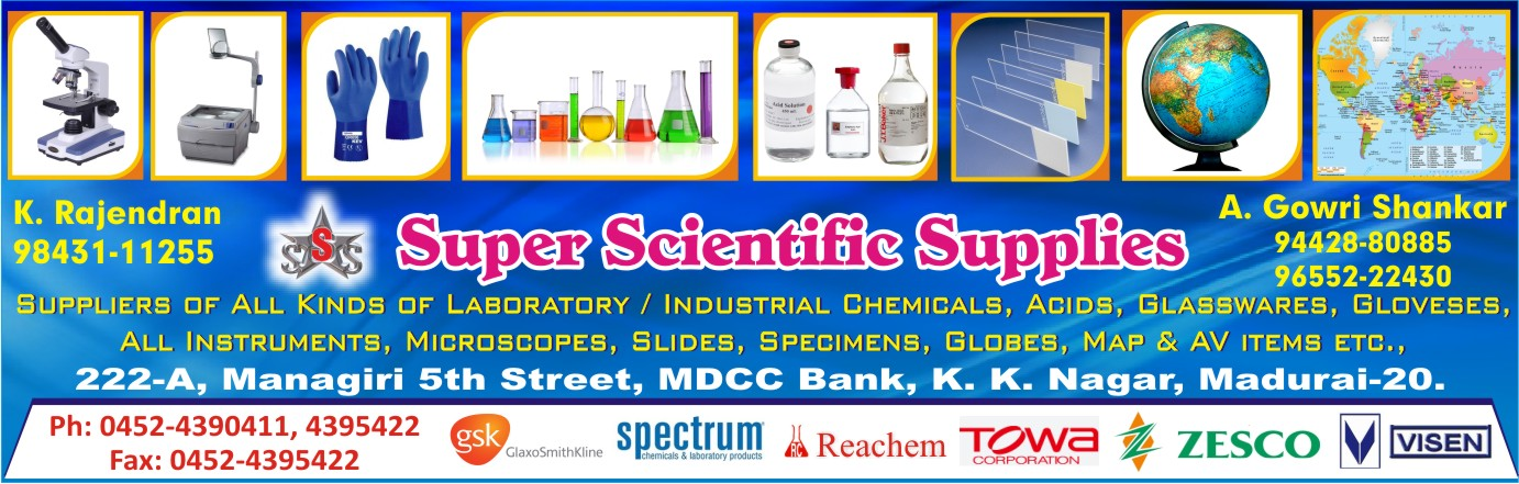 SUPER SCIENTIFIC SUPPLIES / SSS TRADERS,